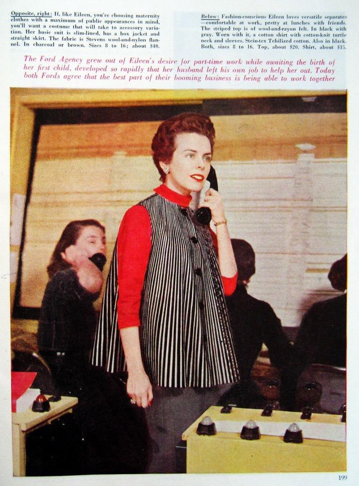 EileenFord_1955_July_GH_199_Maternity