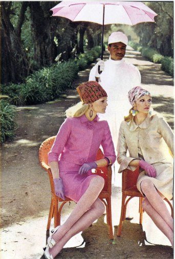 Kecia Nyman and Willy van Rooy 1967 India Helmut Newton