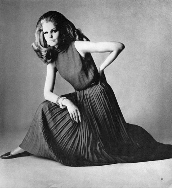 Kecia Nyman 1965 David Bailey British Vogue