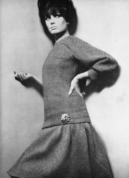 Kecia Nyman 1965 David Bailey British Vogue