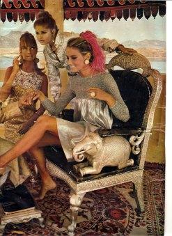 Kecia Nyman, Gunnel Person and Maud Adams India 1967