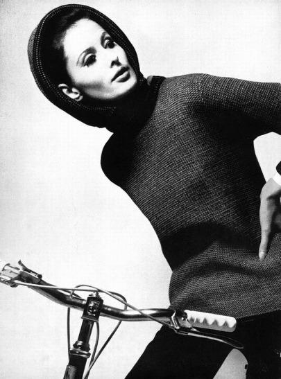 TamaraN_1966_Orlon_HenryClarke_Bicycle